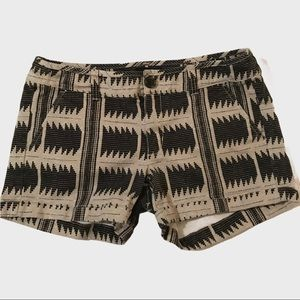 American Eagle Outfitters midi stretch shorts